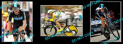 Michael Rogers Tour De France Cycling Signed +2 Photos