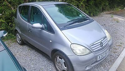 X Reg Mercedes A 140 Elegance 1 Owner  Full Service History  Spares Or Repairs