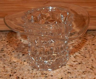 Vintage Fostoria American Glass Top Hat Clear Excellent Condition