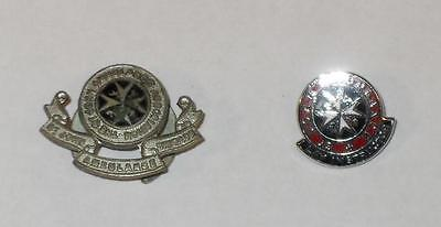 2 Lapel Badges For St John Ambulance Including Lay Instructor
