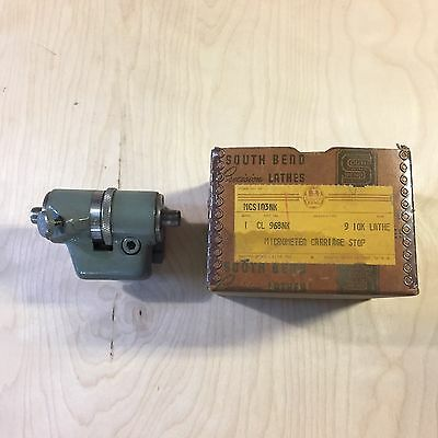 South Bend Lathe 9 10K Micrometer Stop NOS With Box