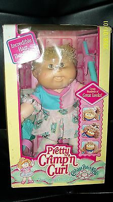 Cabbage Patch Kid Doll Hasbro Crimp N Curls In Box 000