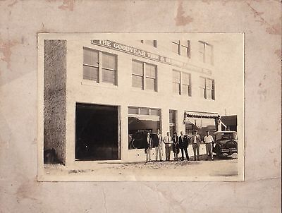Vintage Photograph Goodyear Tire And Rubber Co Miami Fl