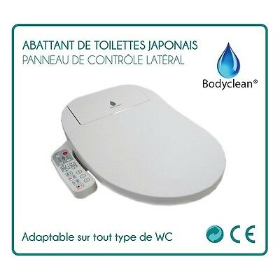 Abattant de toilettes Japonais Wc automatique full options Bodyclean