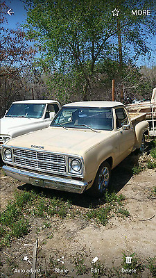 1980 Dodge Other Pickups  1980 dodge d150