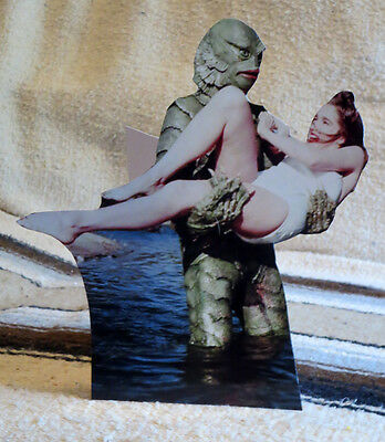"Creature from the Black Lagoon Movie Figure Tabletop Display Standee 8 1/2"" Tall"