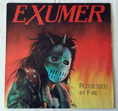Exumer - Possessed by Fire - LP - 1986 - First Press Disaster Slayer Destruction