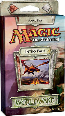 Magic the gathering - Worldwake Intro Deck: RAPID FIRE - NO booster pack