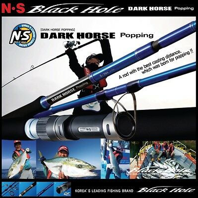 Black Hole Ns Rods Popping Rod Dark Horse Popping