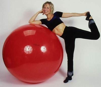Physiotherapy 48 in. Dia. Gymnic Classic Ball in Red [ID 34778]