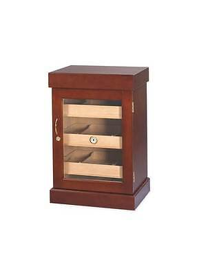 1500-Cigar Mini Tower Humidor in Mahogany Finish [ID 33010]