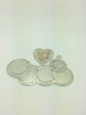 LOT Tiffany & co. Sterling Silver bookmarks mixed!!!