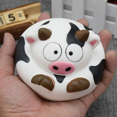 Kawaii Cows Squishy Soft Cream Scented Straps Phone Charms Slow Rising Kids Toys