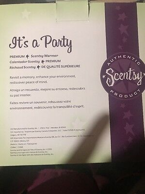 Gently Used Its A Party Premium Warmer Scentsy