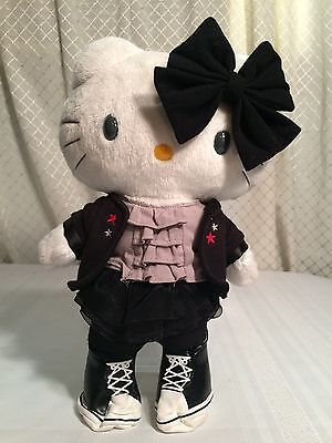 Hello Kitty Plush Doll Sanrio Rare Toy with outfit & shoes