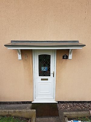 Door Canopy That Covers Existing Concrete Canopy Made To Measure