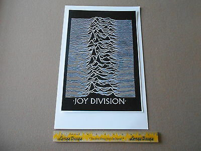 "Hand Made Joy Division 11 X 17"" Poster"