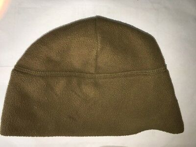 USMC Micro Fleece Watch Cap Hat Beanie Coyote Brown EXTREME COLD WEATHER