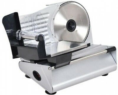 Chrome Home 7.5 Blade Electric Meat Cheese Deli Food Cutter Slicer Kitchen