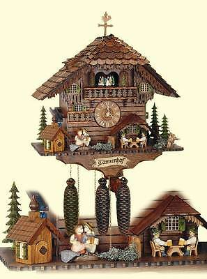 8-Day Black Forest House Tannenhof Cuckoo Clock [ID 93525]