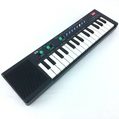 Vintage Realistic Concertmate 350 Electronic Keyboard Synthesizer Working