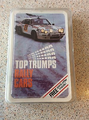 RARE VINTAGE 70s RALLY CARS TOP TRUMPS IMMACULATE CARDS