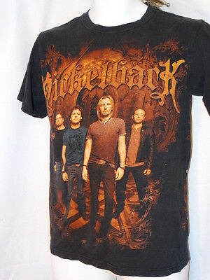 nickelback CONCER TSHIRT TOUR  2010 SIZES SMALL