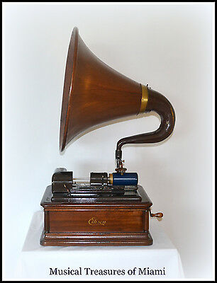 Antique Edison OPERA Cylinder Phonograph
