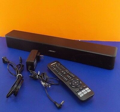 bose 418775. used bose solo 5 tv sound system model 418775 remote + power supply read #slez91