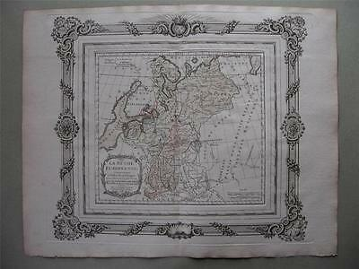 1766 - BRION - Decorative map RUSSIA in EUROPE