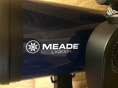 Meade 10 inch  LX200R Ritchey-Chretien Telescope with accessories.