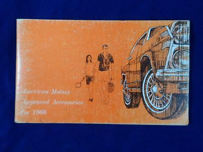 American Motors Approved Accessories for 1966
