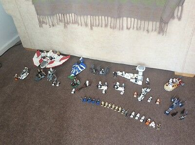 Lego Star Wars Set Collection And Mini figures