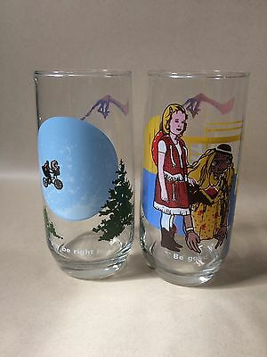 E.T. The Extra-Terrestrial Drinking Glasses