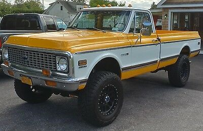1972 Chevrolet Other Pickups  1972 Chevy Cheyenne Pick Up Fleetside 350 automatic BEAUTIFUL Factory Tach