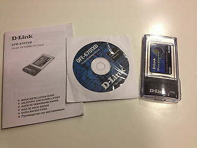 D-Link wireless PC card