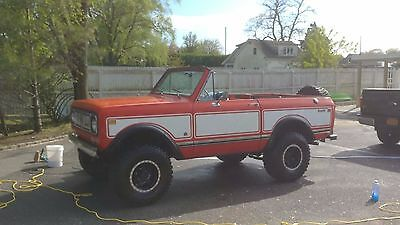 """1974 International Harvester Scout  1974 International Scout II 345 cubic inch small block 33"""" tires M/T VERY CLEAN"""