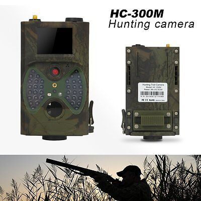 HC-350M Infrared Trail IR Outdoor HD Hunting Camera Scouting +Remote Waterproof