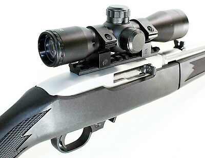 hunting tactical 10/22 Ruger .22 4x32 Scope with rail base mount aluminum adapte