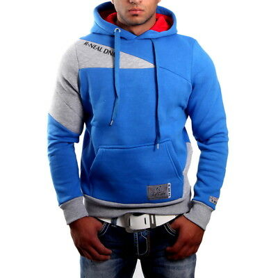 Subliminal Mode - Sweat Shirt à Capuche Homme Hoodie Mode SB-9306 Pull Hooded