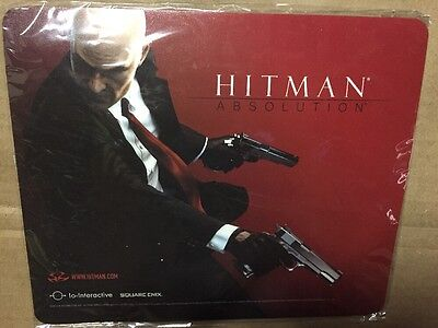 EXCLUSIVE - Square Enix Members Reward HITMAN Absolution mouse pad - NYCC - SDCC