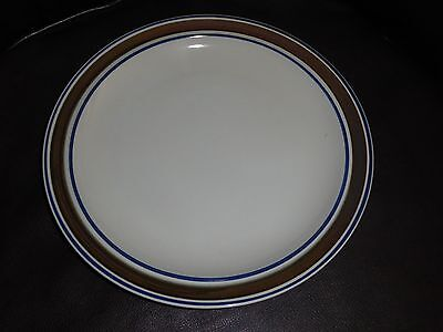 "New Salem Stoneware Georgetown Round 12"" Platter Or Charger Plate Mint"