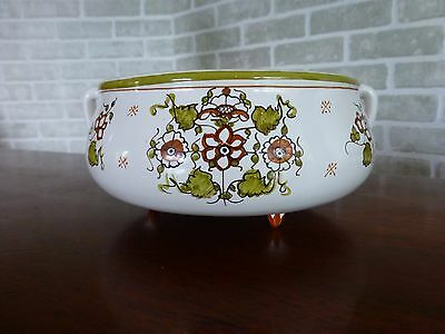Ceramic bowl handmade Moustiers France