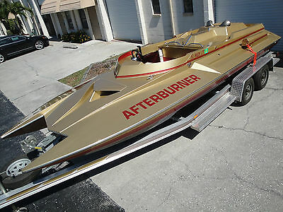 Allison Jet Turbine Powered Talon 21 Pickle Fork Powerboat