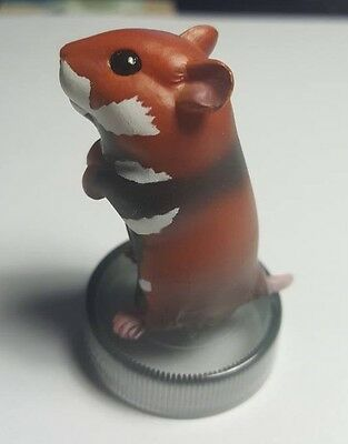 Kaiyodo Hamster's Lunch Golden Hamster Pet PVC MINI FIGURE Figurine B