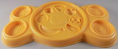 Play Doh Sesame Street Cookie Monster's Letter Lunch Replacement Food Mold Tray