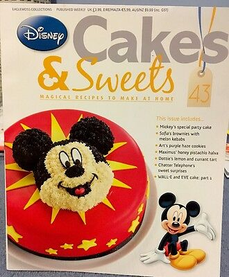 Disney - Cakes And Sweets Magazine - Eaglemoss Collections - Issue 43