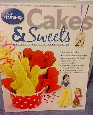 Disney - Cakes And Sweets Magazine - Eaglemoss Collections - Issue 29