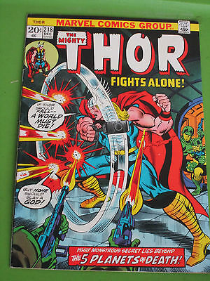 Mighty Thor # 218 nmt Marvel Comic Book Loki.make offer