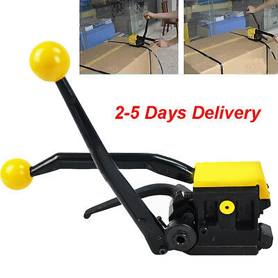"""Update Manual A333 Steel Strapping Combination Tool Machine For 1/2""""-3/4"""" Straps"""